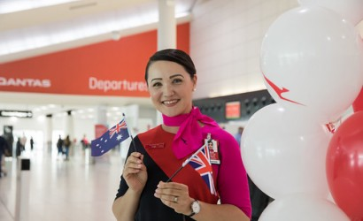 Qantas launches new Perth-London route