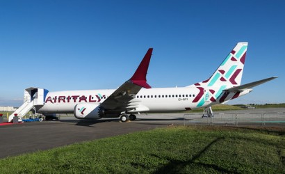 Air Italy unveils new livery on first Boeing 737 MAX