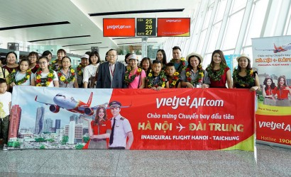 Vietjet launches new route to Taichung