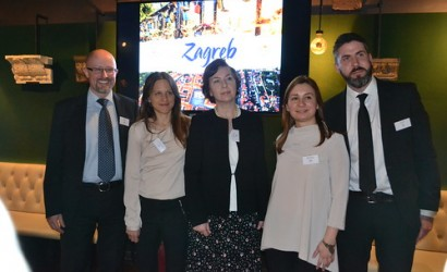 Zagreb – Monarch flight launch, London