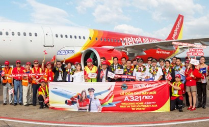 Vietjet welcomes first A321neo to fleet