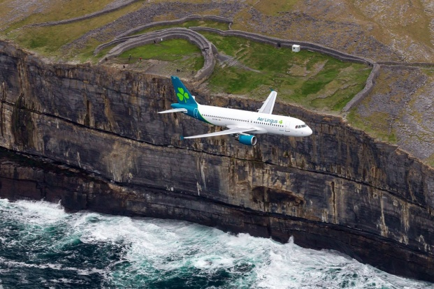 Aer Lingus today unveiled a refreshed brand with updated logo and new aircraft livery, reflecting the airline's position as a modern and contemporary Irish brand that competes on the international stage. The new logo retains but restyles the iconic shamro