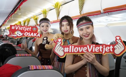 Vietjet touches down in Osaka for first time