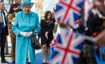 Her majesty the Queen celebrates British Airways centenary