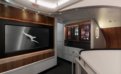 Qantas welcomes first refreshed Airbus A380 to skies