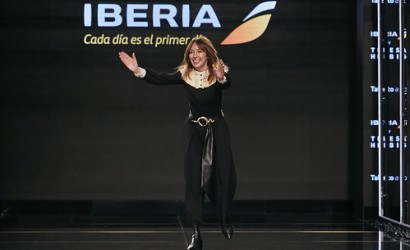 Iberia unveils new uniform during Madrid fashion week