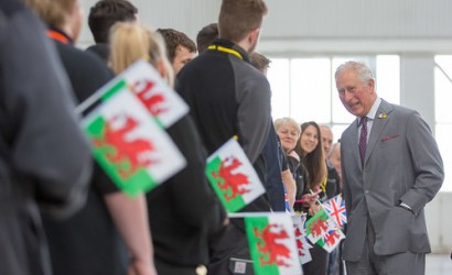 British Airways showcases sustainability to Prince of Wales in Cardiff