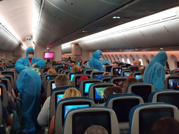 Vietnam Airlines Operated Repatriation Flights for German and European Citizens