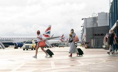 London City welcomes first post-lockdown international passengers