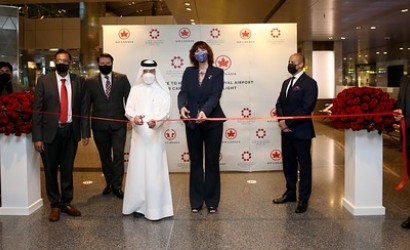 Air Canada touches down in Doha