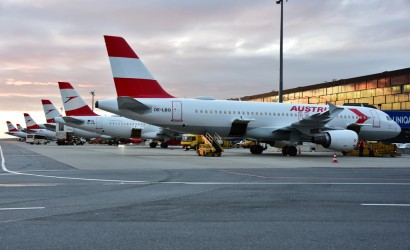 Retro Airbus A320 takes to the skies for Austrian Airlines