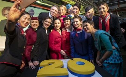 oneworld celebrates historic milestone in London