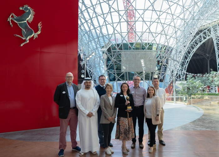 Ferrari World Abu Dhabi tops global vote at World Travel Awards