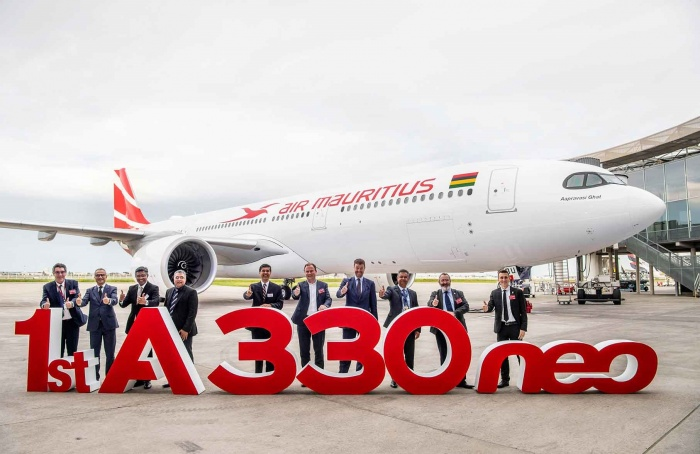 Air Mauritius takes delivery of first Airbus A330-900