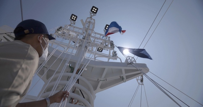 Flag Ceremony Rotterdam NS 2021 B