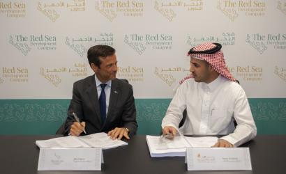 Red Sea Development Company begins construction of coastal village