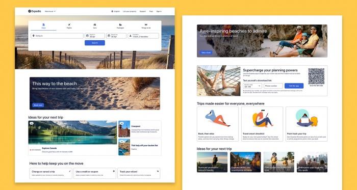 Homepage Desktop Expedia NS 2021