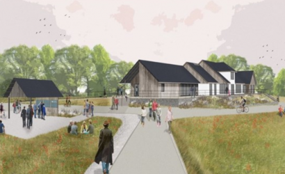 Llys-y-Frân lake redevelopment comes to fruition