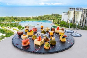 New afternoon tea from the Sanya Edition Hotel