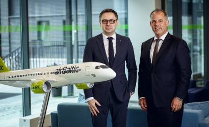 airBaltic to launch first Bombardier CS300 charter flights