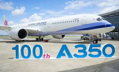 China Airlines takes delivery of milestone Airbus A350 XWB