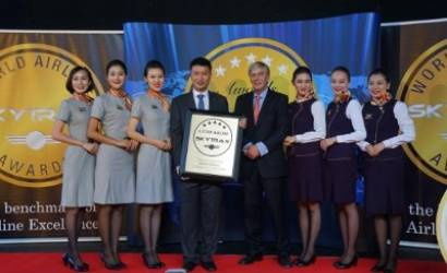 Hainan Airlines recognised as Best Airline in China by SkyTrax