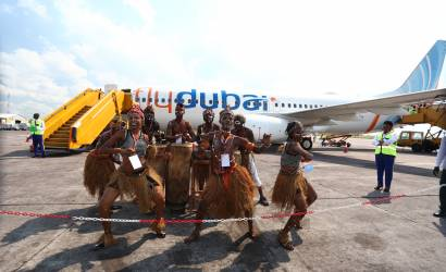 flydubai touches down at Kinshasa International Airport, Congo