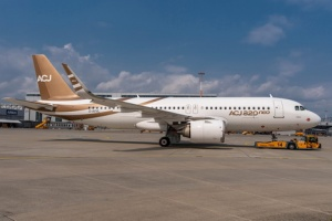 Airbus prepares first ACJ320neo for take off with Acropolis Aviation