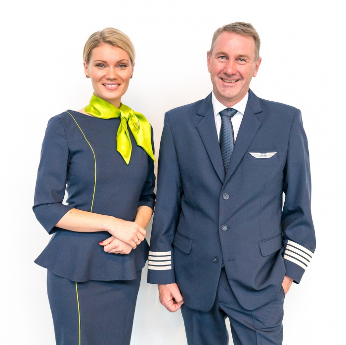 New cabin crew uniforms for airBaltic