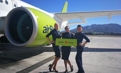 airBaltic adds Malaga, Copenhagen and Brussels from Tallinn, Estonia