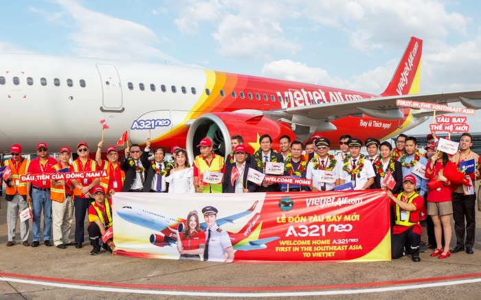 News: Vietjet welcomes first A321neo to south-east Asia