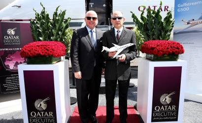 Farnborough 2018: Qatar Executive unveils Gulfstream G500