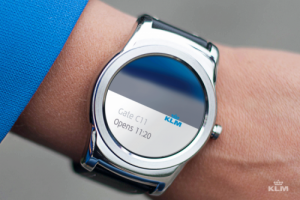 KLM launches android smartwatch app