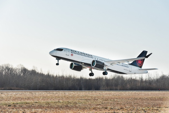 Air Canada takes delivery of first Airbus A220