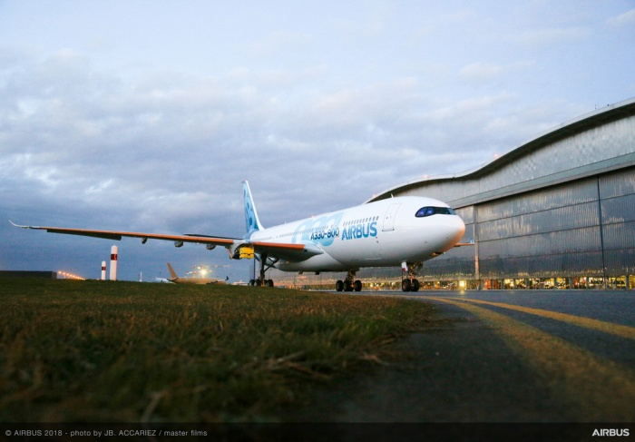 Airbus prepares to debut first A330-800