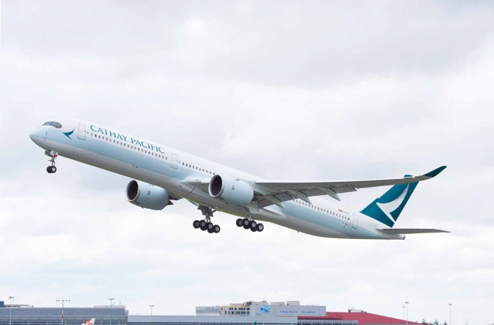 First Airbus A350-1000 joins Cathay Pacific fleet