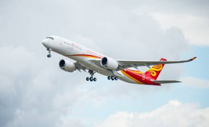 Debut for Hong Kong Airlines first A350 XWB in Toulouse, France