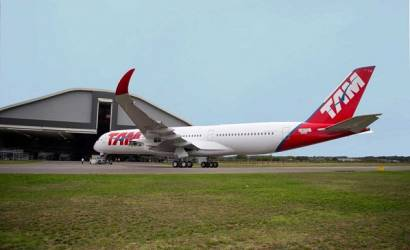TAM Airlines reveals first A350 XWB