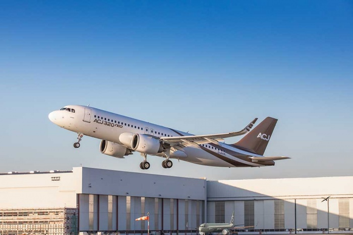 Airbus begins test programme for ACJ320neo corporate jet