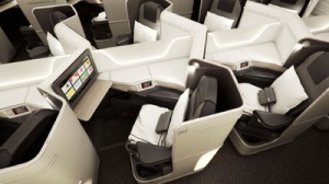 Air Canada premiers new Boeing 787 Dreamliner cabin