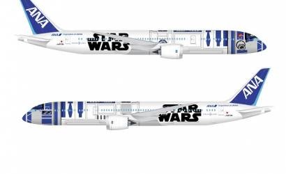 All Nippon Airways takes Star Wars livery into the skies