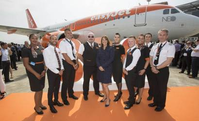 easyJet receives first Leap-1A powered A320neo from Airbus