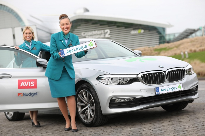 Aer Lingus signs car hire partnership with Avis Budget Group