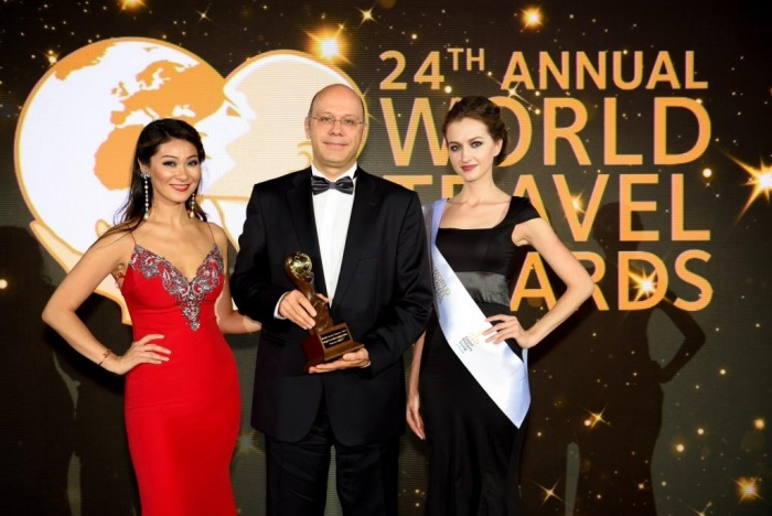 Aegean honoured by voters at World Travel Awards