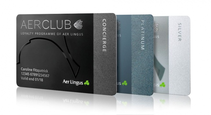 Aer Lingus launches AerClub loyalty programme