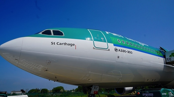 New Airbus A330-300 joins Aer Lingus fleet as transatlantic routes grow