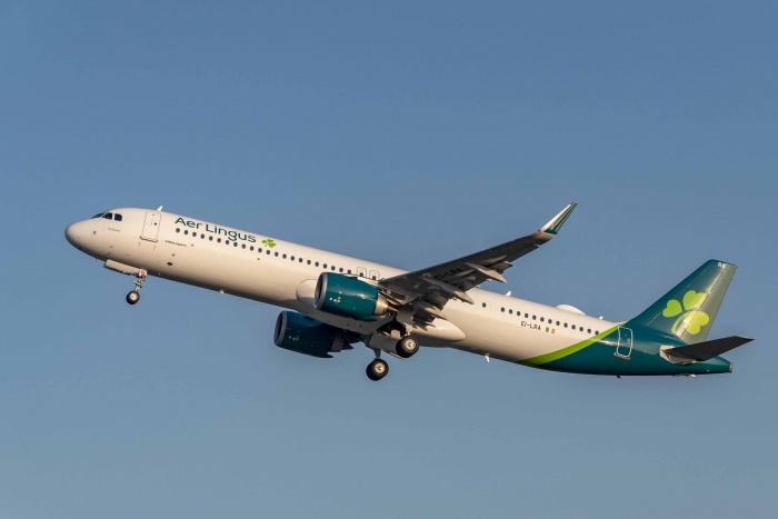 Aer Lingus takes delivery of first Airbus A321LR
