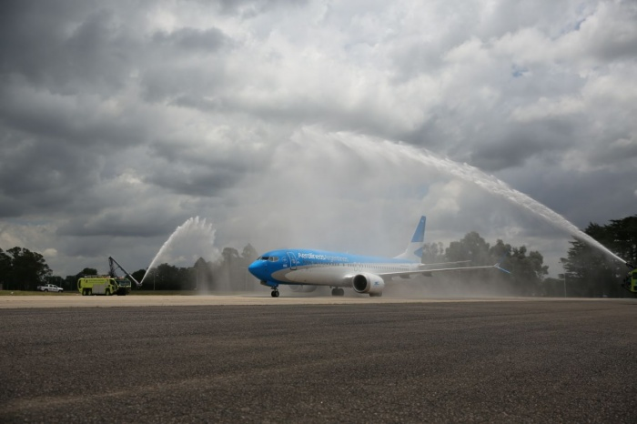 Aerolíneas Argentinas takes delivery of first 737 MAX