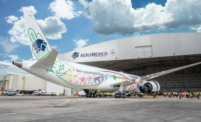 Aeromexico welcomes first Boeing 787-9 to fleet