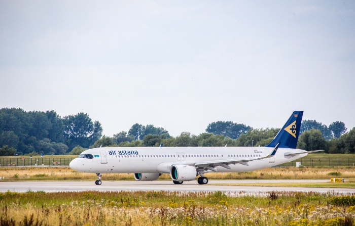Air Astana takes delivery of first Airbus A321LR